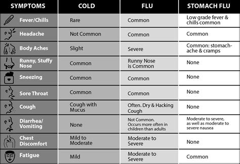 do bed bugs like the cold know the difference cold flu and stomach flu memorial medical center