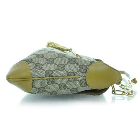gucci monogram tiger charm shoulder bag 29244