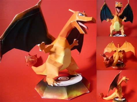 How To Make A Paper Charizard - charizard papercraft by epikachu on deviantart