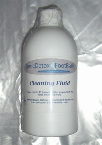Cleaning Solution For Ionic Detox Arrays by Ionic Detox Foot Bath Eplus Ion Spa Ion Secret