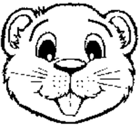 beaver coloring pages preschool scouting activities