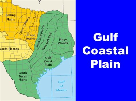 texas coastal plains map tx history ch 3 2