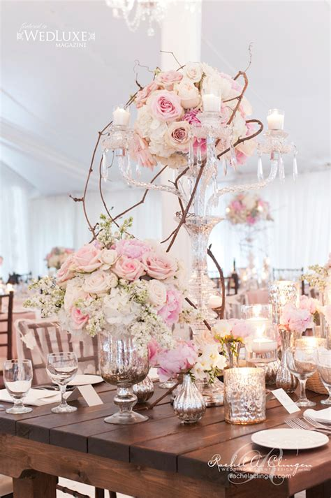 Chandelier Centerpiece Wedding 15 Candelabra Floral Centerpieces Mon Cheri Bridals