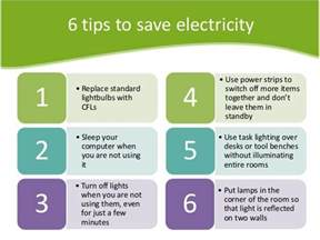 how to save electricity and six effective tips to safe energy or electricity at your