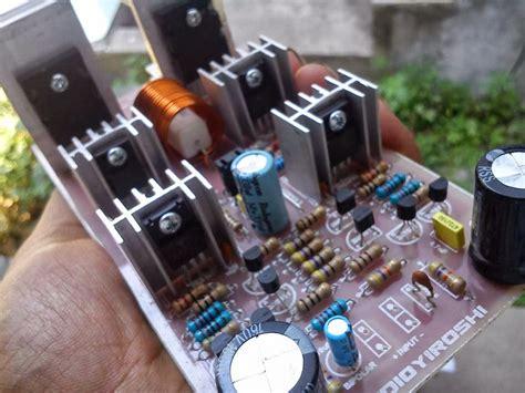 Kit Driver Yiroshi fosti audio electronics project koleksi power