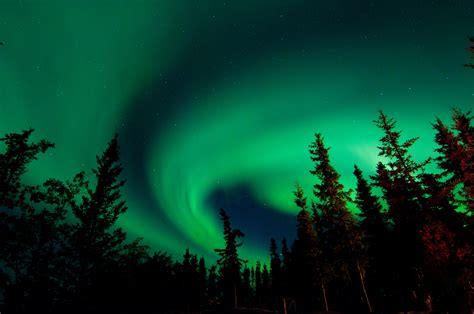 lights in looking for the northern lights in yellowknife wapawekka