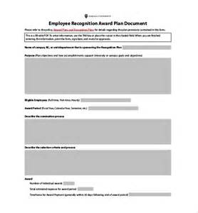 recognition award template employee recognition awards template 9 free word pdf