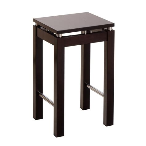 Winsome Stool by Shop Winsome Wood Chrome Espresso 24 In Counter Stool