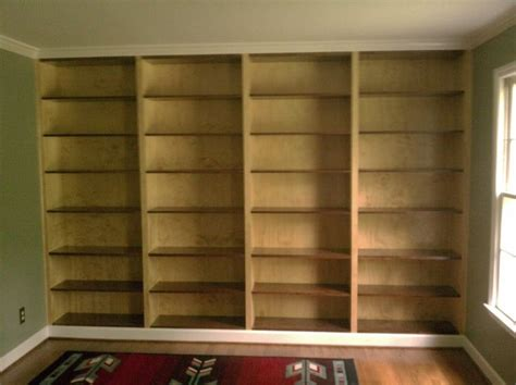 built in bookcase plans bookcase plans built in bookcase kreg jig owners