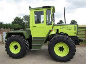 Mercedes Tractors Mercedes Mb Trac 800 Year Of Manufacture 1989