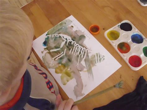 preschool painting free the do it yourself preschool dinosaur free printables