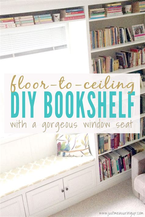 build bookshelves built in bookshelves with a window seat how to build a