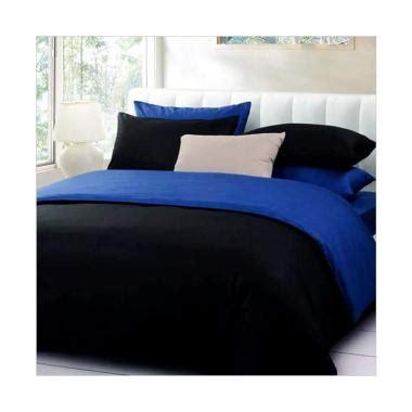 Terpopuler Transparan Biru Hitam jual ellenov katun prada polos set sprei biru tua hitam harga kualitas terjamin