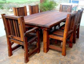 Wooden Outdoor Furniture Wood Outdoor Tables A Brief History Of Wood Dowels