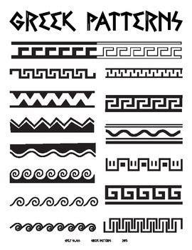 greek pattern name greek patterns handout editor make paper and africans