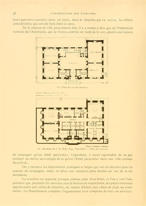 gilded age mansions floor plans duke mansion basement and 1st floor gilded age
