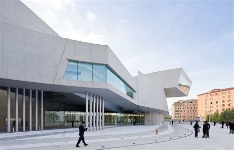 design museum london archdaily maxxi museum zaha hadid architects archdaily