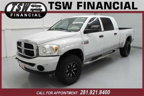 dodge 2500 for sale in houston 2007 dodge ram 2500 for sale in houston tx