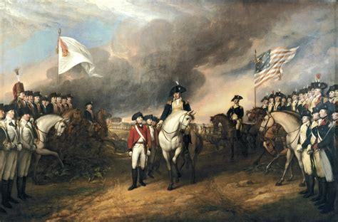 america map before civil war yorktown surrender john trumbull painting
