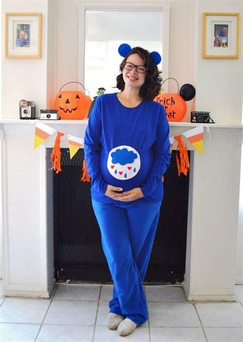 diy grumpy bear costume pregnant halloween costumes