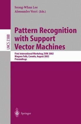 pattern recognition book pdf download pattern recognition with support vector machines