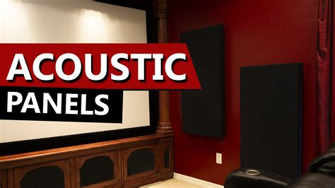 home theater acoustic panels diy    room