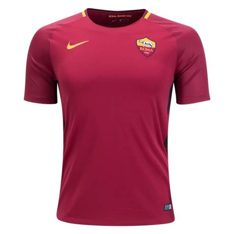 Jersey Grade Ori As Roma Home jersey grade ori kaos baju bola klub liga italy as roma home 2017 2018 official awwsport
