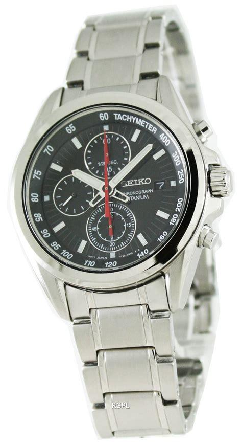 Seiko Chronograph Titanium seiko titanium chronograph quartz sndc93p1 mens