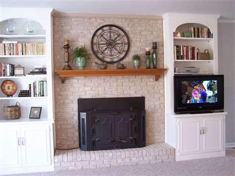 of 5 fireplace makeover