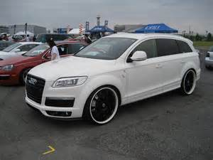 audi q7 with custom wheels audi q7 specs iforged ps