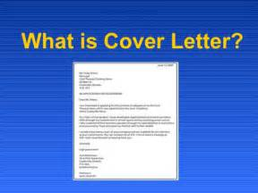 What Is A Cover Letter For What Is Cover Letter