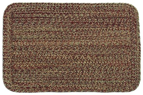 carolina braided rugs carolina harvest rectangle braided rug