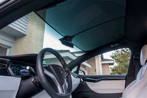 tesla windshield tesla sunshade solution for model x chow dot com