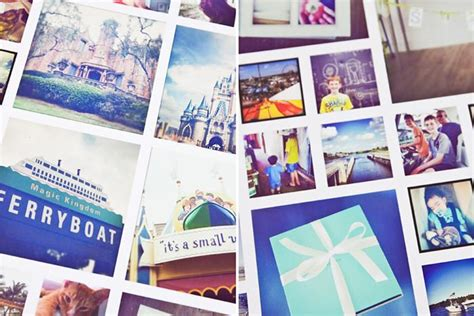 indesign template photo collage instagram collage template for photoshop indesign
