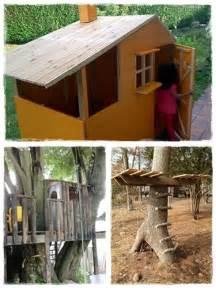Fabriquer Une Cabane En Bois Pour Enfant by Construire Une Cabane Pour Les Enfants La Cour Des Petits