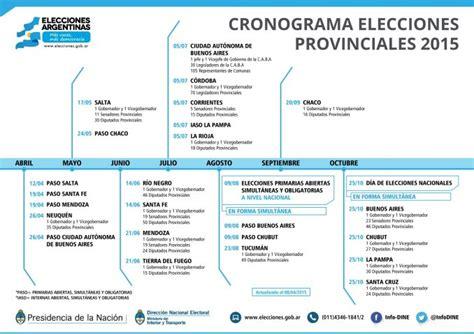 Calendario A Buen Paso 2015 Elecciones 2015 Todos Los Fines De Semana Con Votaciones