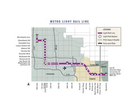 arizona light rail map light rail map schedule