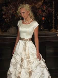beautiful modest wedding dresses for brides