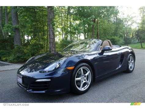 porsche blue metallic 2013 blue metallic porsche boxster 104129725 photo
