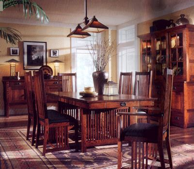 arts and crafts home decor mission arts and crafts decor furniture dining room