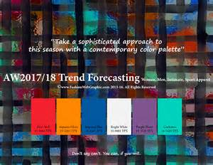 Pantone Color Forecast 2017 by Aw2017 2018 Trend Forecasting On Pantone Canvas Gallery