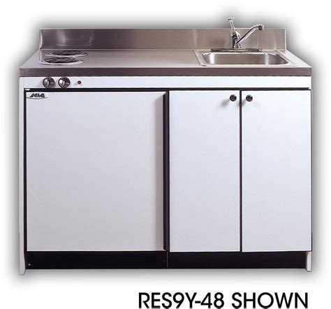 compact kitchen sinks acme res9y48 compact kitchen with sink compact