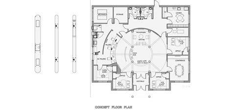 bank interior layout plan first national bank of wellston