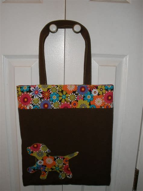 pattern tote bag tote bag pdf pattern includes applique instructions great for