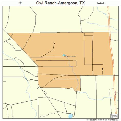 ranch texas map owl ranch amargosa texas map 4854510