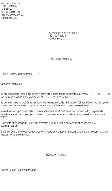 Exemple De Lettre De Motivation Pour Une Formation Universitaire Pdf 5 Lettre De Motivation Formation Exemple Lettres