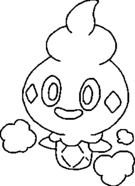 pokemon vanillite coloring pages pin litwick colouring pages on pinterest