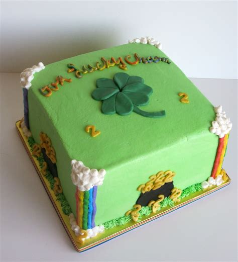 st cake st patricks day birthday cake cakecentral