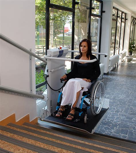 Staircase Chair Lift by S7 Sr Inclined Platform Stair Lift Gt Staircase