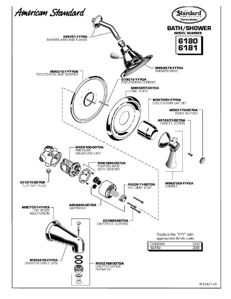 faucet parts names images